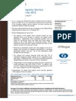 JPM Registry Provider Survey Report March 2012
