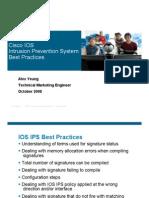 IOS IPS Best Practices