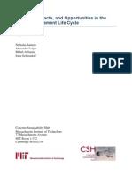 Pavement LCA Report
