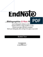 EndNote 7 Demo Guided Tour