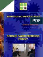 Apresentação Beneficios do Exercício Físico