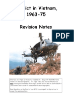 Vietnam Revision Booklet