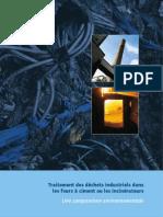 Traitement des déchets industriels dans les fours à ciment ou les incinérateurs