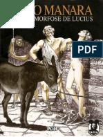 Milo Manara - La Metamorfósis de Lucio