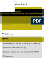 UvA IFRS 1 Consolidation and Business Combinations BB