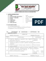 PROGRAMACIÓN CURRICULAR ANUAL DE GEOMETRÍA2