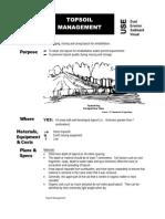 Topsoil Management