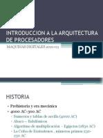 Introduccion a La Arquitectura de Procesadores