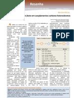 FeCl3 e o Catalisador de Facto Em Acoplamentos Carbono-heteroatomos.