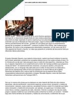 Votado Documento Sudamericano Sobre Estilo de Vida Cristiano