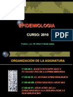 MEDIDAS EPIDEMIOLOGICAS