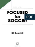 Focused for Soccer