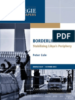 Borderline Chaos? Securing Libya's Periphery