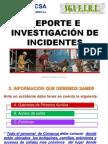 Reporte de Incidentes SST