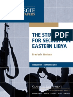 The Struggle for Security in Eastern Libya