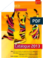 Bright Red Publishing 2013 Catalogue