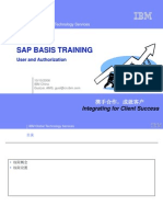 Sap Basis Training - Auth