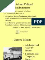 Social and Cultural Environments 4