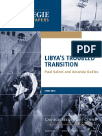 Libya's Troubled Transition