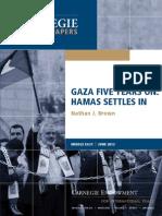 Gaza Five Years On