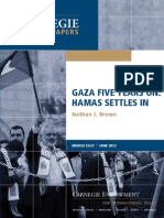 Gaza Five Years On