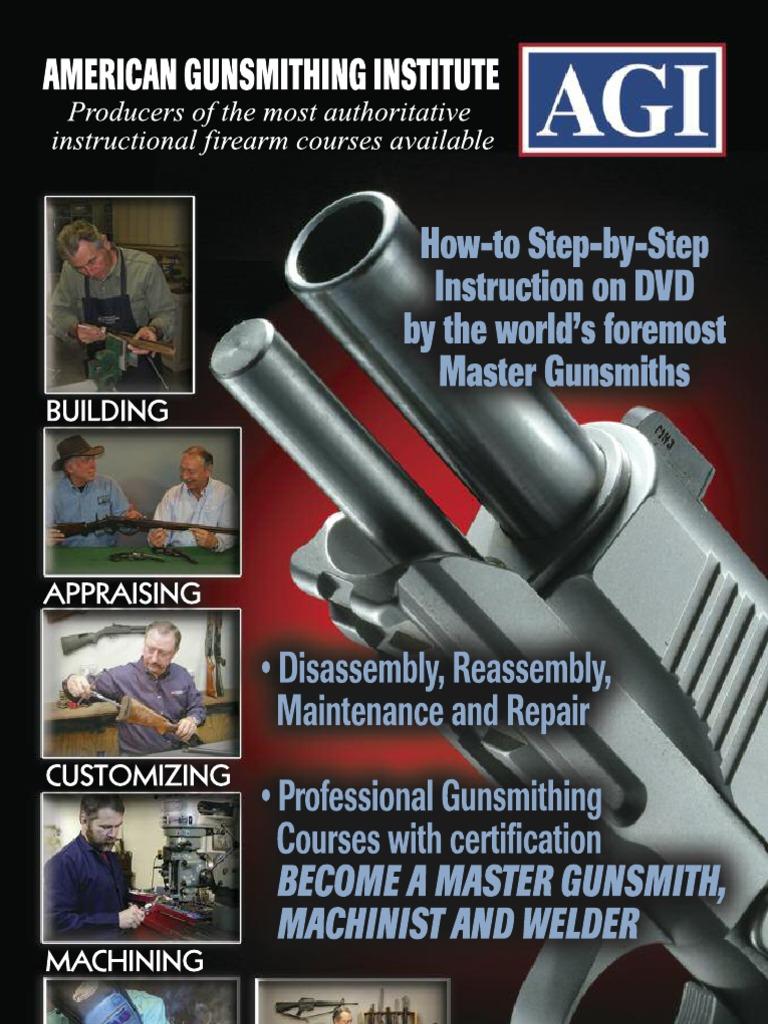 American Gunsmithing Institute 2013 Course Catalog Rifle