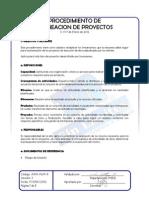 A.0. Adm-pl01-p Procedimiento Planeacion de Proyectos v1 17-Ene-2012-x