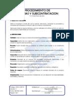 A.0. Adm-cs01-p Procedimiento de Compras y Subcontratacion v1 18-Ene-2012-x