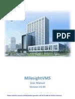 MilesightVMS User ManualV2.05