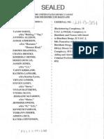 Black Guerrilla Family Indictment