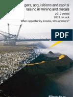 E&Y - Capital & Raising in Mining Metals