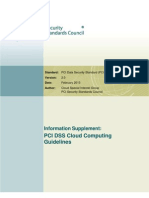 PCI DSS v2 Cloud Guidelines