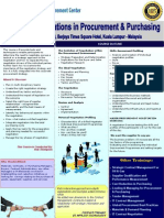 Seminar Strategic Negotiations in Procurement Purchasing
