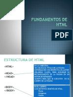 Fundamentos de HTML