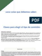 Comisiones Afp
