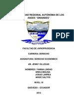 UNIVERSIDAD REGIONAL AUTÓNOMA DE LOS ANDES !