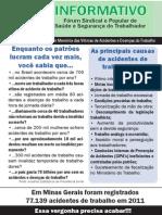 Panfleto Forum Meio Oficio Frente e Verso