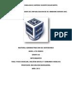 Manual Admin Server
