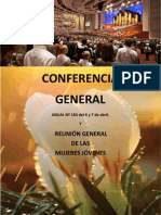 Conferencia General Anual Nc2ba 183 de La Iglesia Del 6 y 7 de Abril