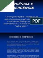 urgencia e emergência
