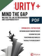 SecurityPlus 2013 Spring Edition