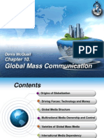 Global Communication. Chapter 10. Denis McQuail.