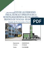 Proyecto de Colcabamba