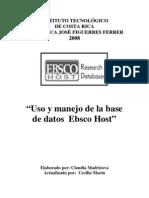 Manual Ebsco