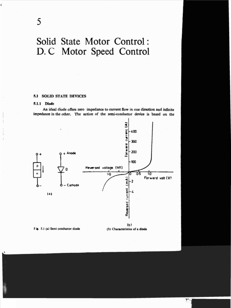 5 Solid State Motor Control Dc Speed Controlpdf Rectifier The Solidstate Circuitry Of A Variablefrequency Drive Can Be Capacitor