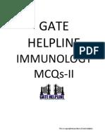 Immunology Mcqs-II (Gate Helpline)