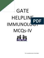 Immunology Mcqs-IV (Gate Helpline)