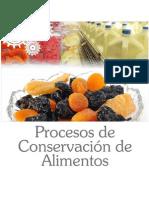 Procesos de Conservación Alimentos