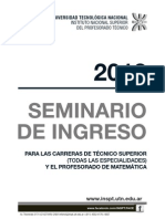Seminario 2013 Todas Especialidades