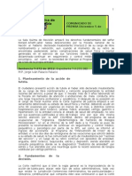 COMUNICADO SENTENCIA T-372 de 2012 insubsistencia funcionario fiscalía